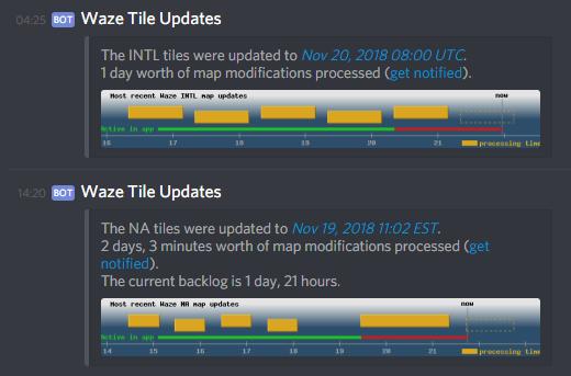 waze com • View topic - [Tool] Map Update notifications in Slack/Discord