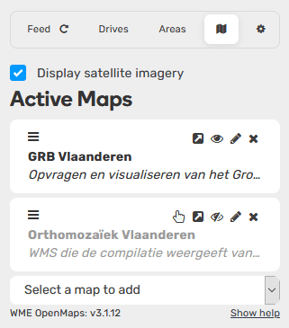 Open Maps layers